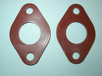 (2) Flange Gaskets for Taco 007 Full Coverage Easier Installation, Better Seal!