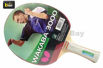 Butterfly Wakaba 3000 FL Shakehand Table Tennis Racket Ping Pong Bat Paddle