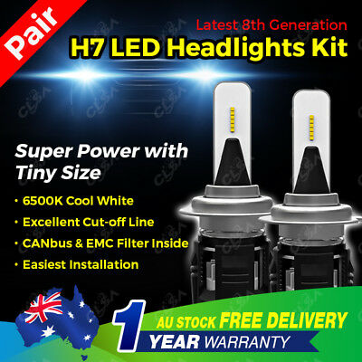 H7 13800Lm Led Headlight Kit High Power Vehicle Car Replace Halogen Xenon Bulb