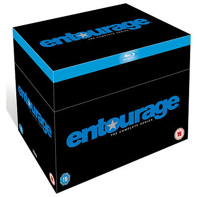 Entourage: The Complete Series Blu-Ray Disc Box Set Region-Free Brand New Sealed