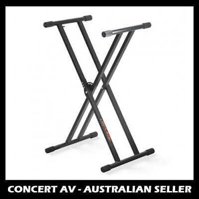 DL Height Adjustable Keyboard Stand Double Braced - BRAND NEW