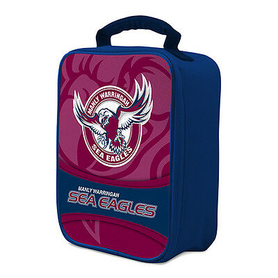 NRL Manly Sea Eagles COOLER BAG Zip insulated Drink School Lunch Box