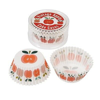 Set Of 50 Vintage Apple Cupcake Cases Muffin Cases. Best Price