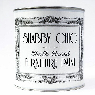 Shabby Chic *chalk Based* Paint Chalky Matt Finish Water-Based Paint 125Ml
