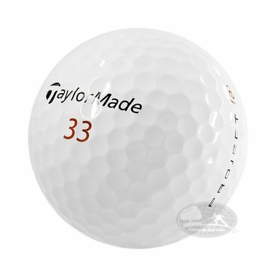 4 Dozzine Taylor Made Project 48 palline da golf usate Cat.4/5 Stelle(AAA/PEARL)