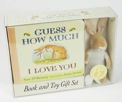 Guess How Much I Love You by Sam McBratney - Book & Toy Collection (Teddy)