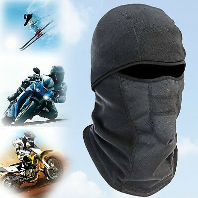MOTORCYCLE BALACLAVA Full Face Mask Wind Military Field Fleece Warm Head Cover