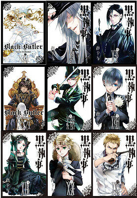Black Butler Collection Set Volumes 13-21 Fantasy Fiction Manga Books Series NEW