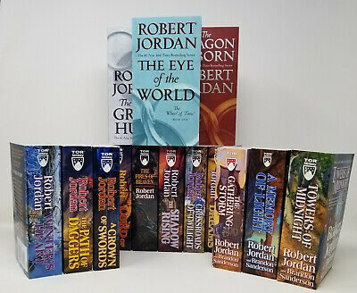 The Complete Wheel of Time Collection Set 1-14 Fantasy Fiction Series Books NEW!