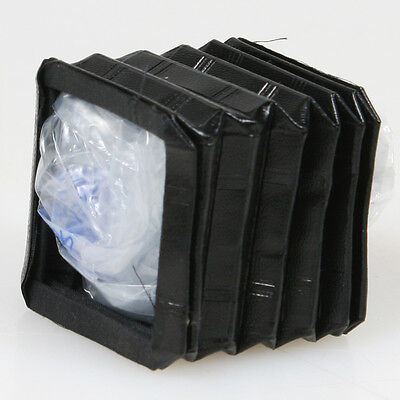 CAMERA BELLOWS REPLACEMENT: 1 3/4in SQUARE x 2 in LONG