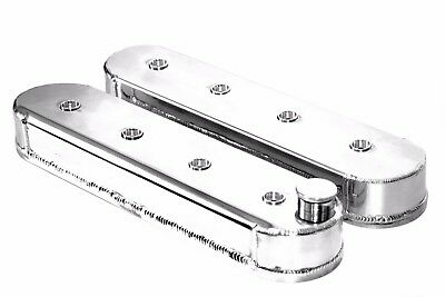 Polished Fabricated Aluminum Chevy LS LS1 LS3 LS6 LS7 Valve Covers