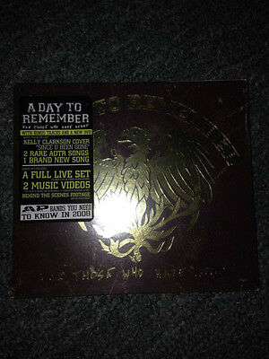 For those who have heart , A day to remember  cd  new free post (b22, B42 b71