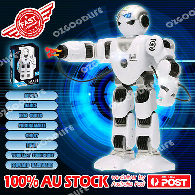 2.4G RC Intelligent Robot Dance shoot Music toy Programmable Humaniod gift