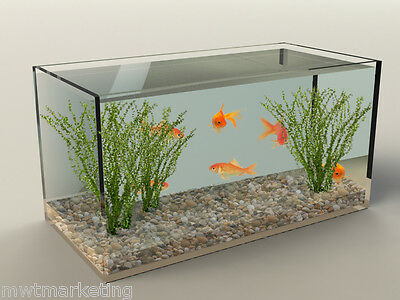 Acrylic Perspex Fish Tank, Aquarium Tank,Lizard or Frog Tank  UV Cast Acrylic