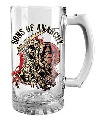 Sons of Anarchy Boxed Glass Stein - Mug