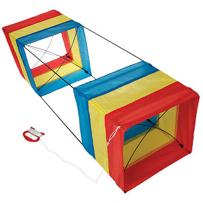 dotcomgiftshop TRADITIONAL STRIPE BOX KITE IN A BOX
