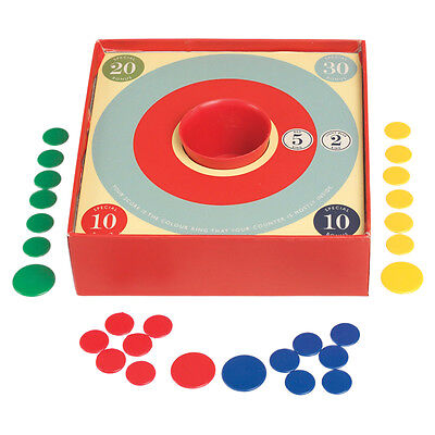 dotcomgiftshop TRADITIONAL TIDDLY WINKS GAME IN A GIFT BOX  WITH INSTRUCTIONS