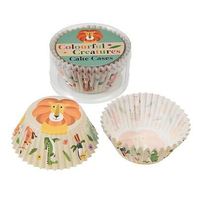dotcomgiftshop SET OF 50 COLOURFUL CREATUR PAPER CUPCAKE CASES MUFFIN CAKE CASES