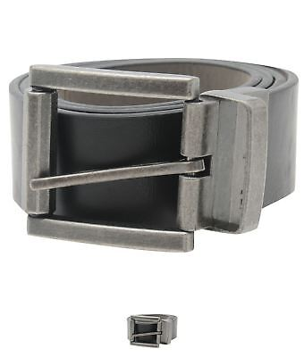OCCASIONE Firetrap Reverse Belt Black/Grey