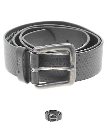 OCCASIONE Lee Cooper Pattern Belt Mens Black