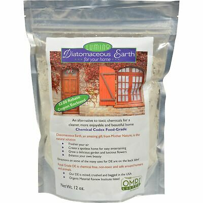 Lumino Diatomaceous Earth For Your Home - 12 Oz X 6