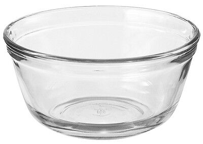 Anchor Hocking Glass Bowl Mixing 4L Tempered Glass Microwave Dishwasher Safe