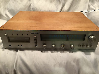 Vintage Daytron AM FM Phono 8 Eight Track Stereo Tape Player Recorder