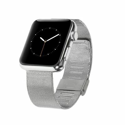 Correa de acero inoxidable para Apple Watch 38mm (Requiere eje para Watch Sport)