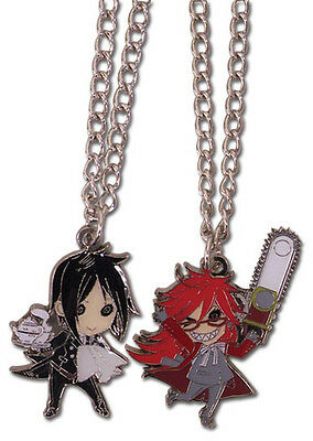 Necklace - Black Butler - New Sebastian & Grell (Set of 2) Anime Gifts ge35579