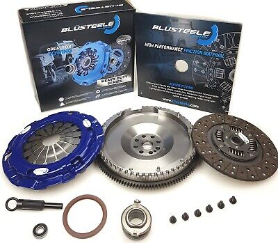 Blüsteele HEAVY DUTY clutch kit for MAZDA BT50 & solid FLYWHEEL 06-11 T Diesel