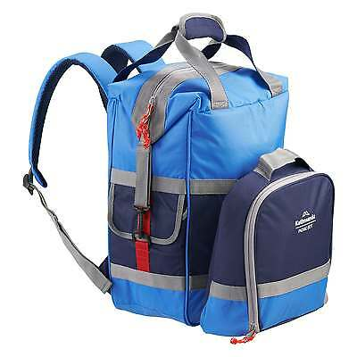 Kathmandu Picnic Cooler 18L Backpack 4 Person Camping Fishing Lunch Bag Navy New