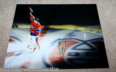 MONTREAL CANADIENS CAREY PRICE HAND SIGNED AUTHENTIC 11X14 PHOTO w/COA NHL