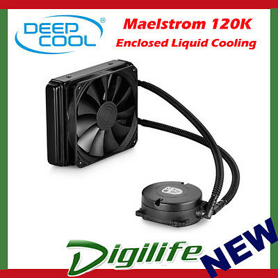 DeepCool Maelstrom 120K Enclosed Liquid Cooling System for Intel & AMD