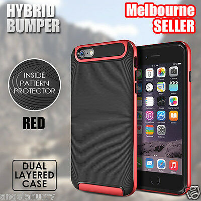RedNEW iPhone 6s / 6s Plus Case For Apple Crucial Bumper Hybrid Protective Cover