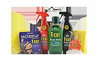 T-Cut Car Cleaning Gift Set - T Cut Original, Detailer, Power Wash & Cloths