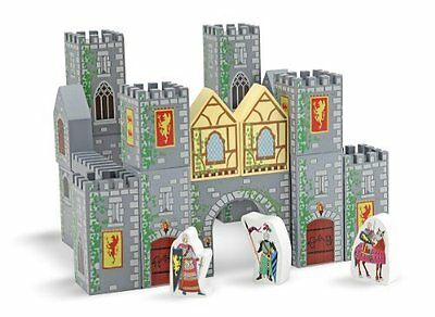 Brand New Melissa & Doug Castle Blocks Play Set Kids Toy Gift