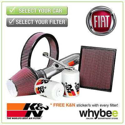 FIAT Grande Punto All K&N KN Performance Filters inc Air, Oil & Intake Kits