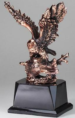 Eagle with Flag Resin Trophy Award