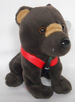 1999 Coca-Cola Russia Barris the Brown Bear Mini Bean Bag-Beanie