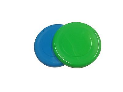 New Cheap All Round Flying Disc Dogs Kids Flyer Fun 2 Frisbee's Retrieve Puppy