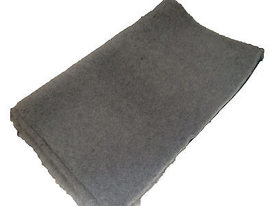 Grey Green back Vet bed Dog Bedding VETBED ideal puppies whelping fleece 50x75cm