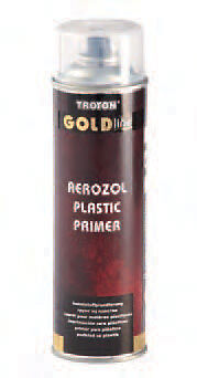 Primaire plastique / Aerosol GOLD LINE PLAST ADHESION SPRAY 500ML