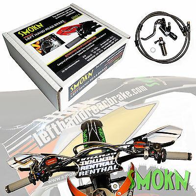 SMOKN Left Hand Rear Brake Kit fits KTM SXF 250 350 EXC-F Six Days Dual Actuated
