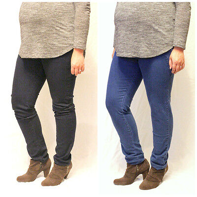 Maternity Jeans Jeggings Under the Bump