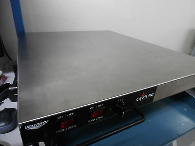 "Vollrath Cayenne 20"" x 24"" Stainless Heated Shelf - In good working condition"