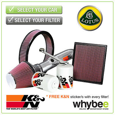 LOTUS Elise All K&N KN Performance Filters inc Air, Oil & Intake Kits - New!