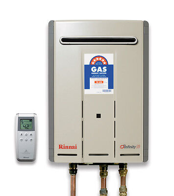 Rinnai Infinity 26 Touch Wireless Remote Control 50 Degree Natural Gas Model