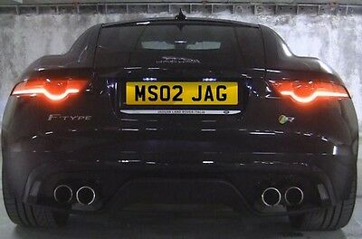 MS02 JAG MS Jaguar Cat F Type F Pace XE XF XJ Number plate Ready to transfer
