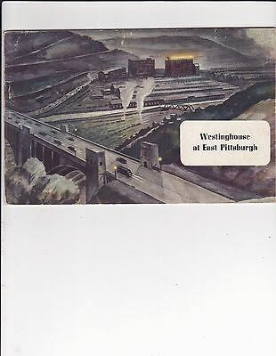 WESTINGHOUSE AT EAST PITTSBURGH- 1949---Massachusetts Industry History---
