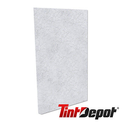 """5 White Scrub Pads 6""""x9"""" Great for Cleaning Window Tint Installers."""